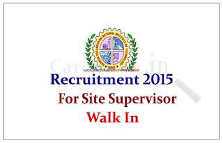 S.V National Institute of Technology Recruitment for the post of Site Supervisor (Civil)