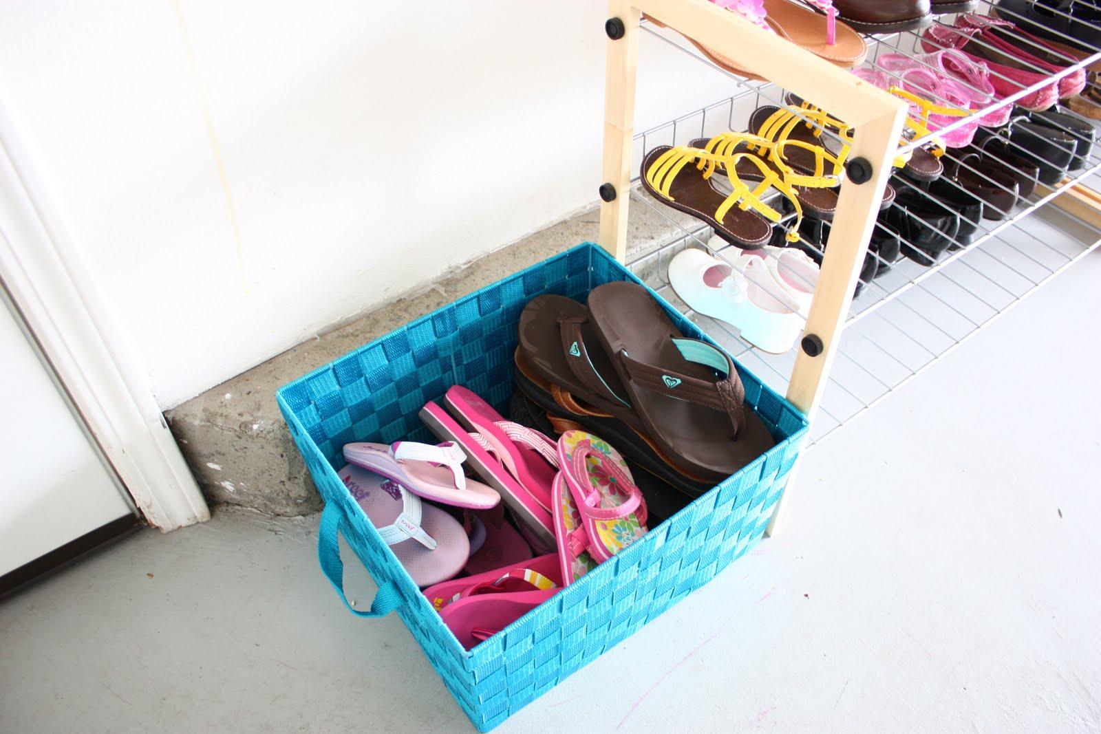 Shoe Organization The Sunny Side Blog