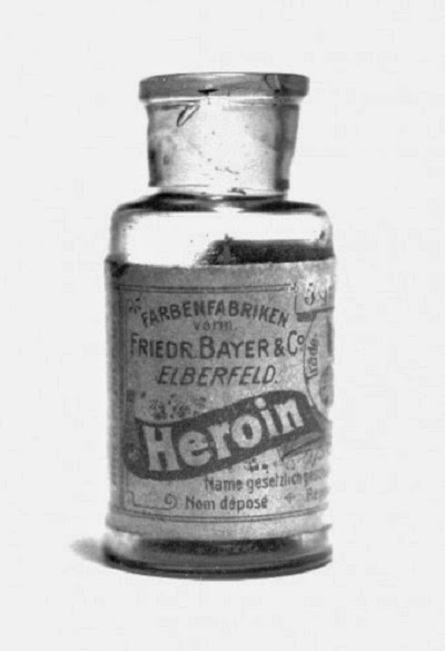 vial of Bayer Heroin