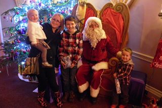 Meeting Santa at Marwell
