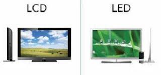 perbedaan lcd dan led laptop,lcd dan led monitor,tv plasma dan led,lcd dengan led,