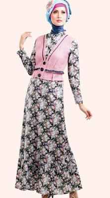 Cara Pakai Hijab Jilbab Baju Gamis Muslimah Nan Anggun