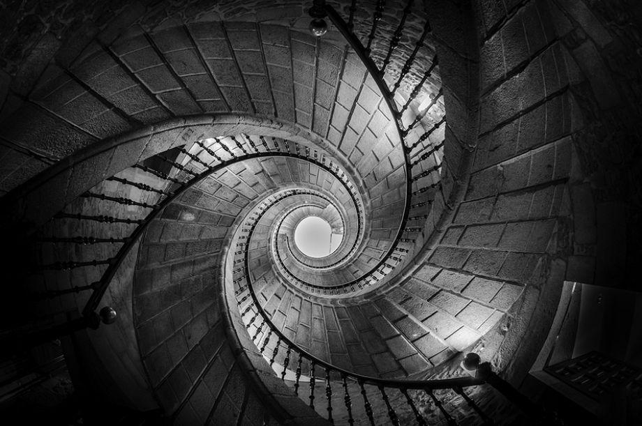 Las Fotos Mas Alucinantes: escalera de caracol