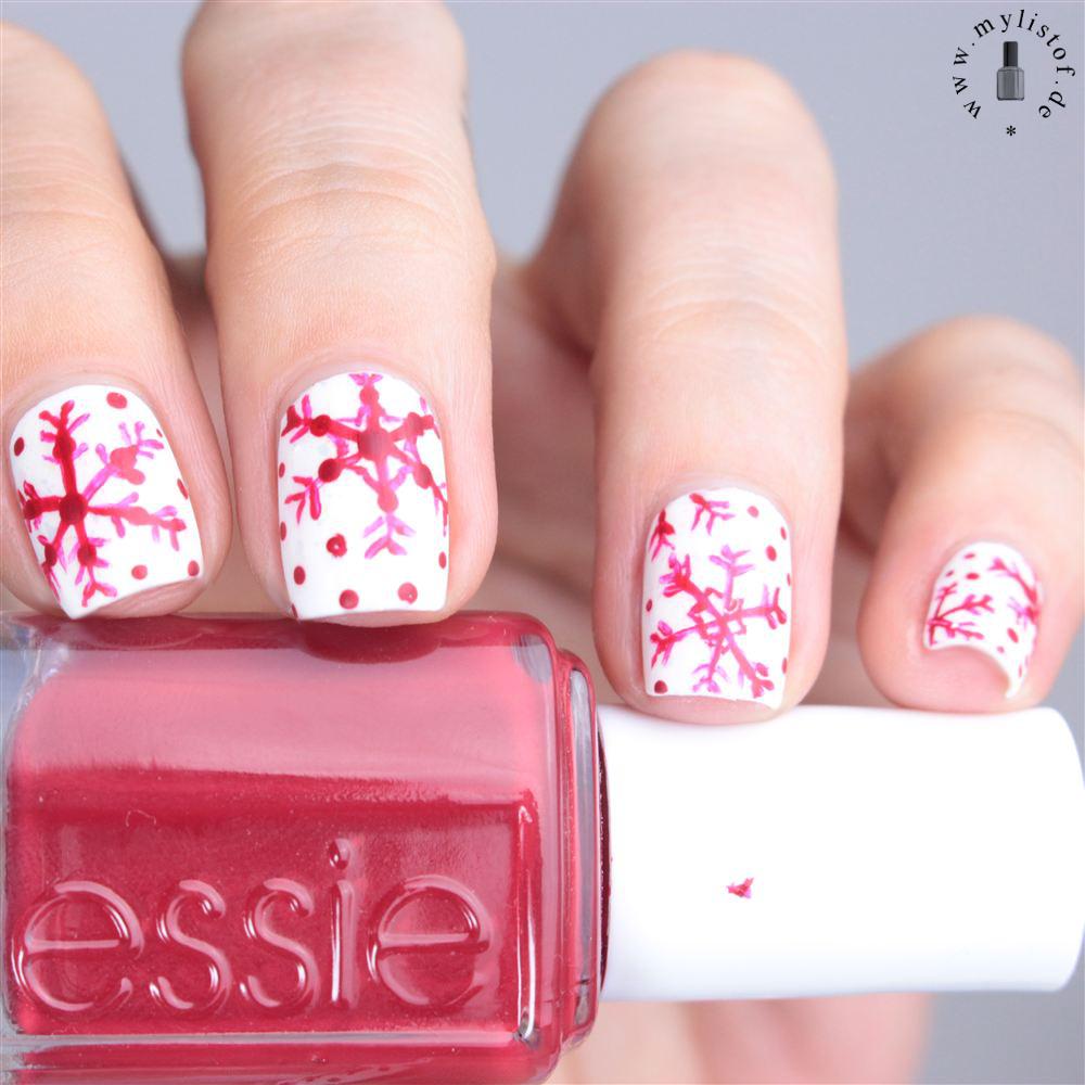 My List Of ....: [ Nagel(lack) - ABC ] Snowflakes mit Essie