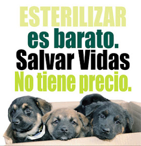 Apoyá la esterilización. Support sterilization
