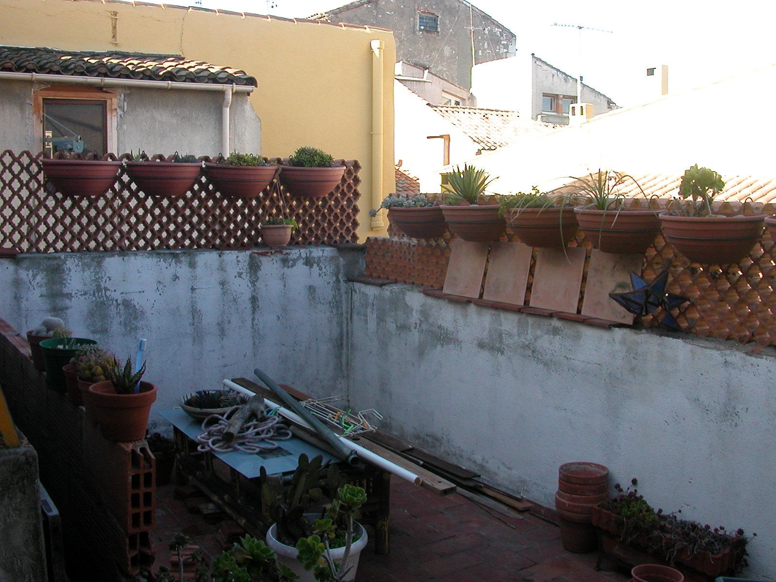 La draperie terrasse - Banquette beton cellulaire ...