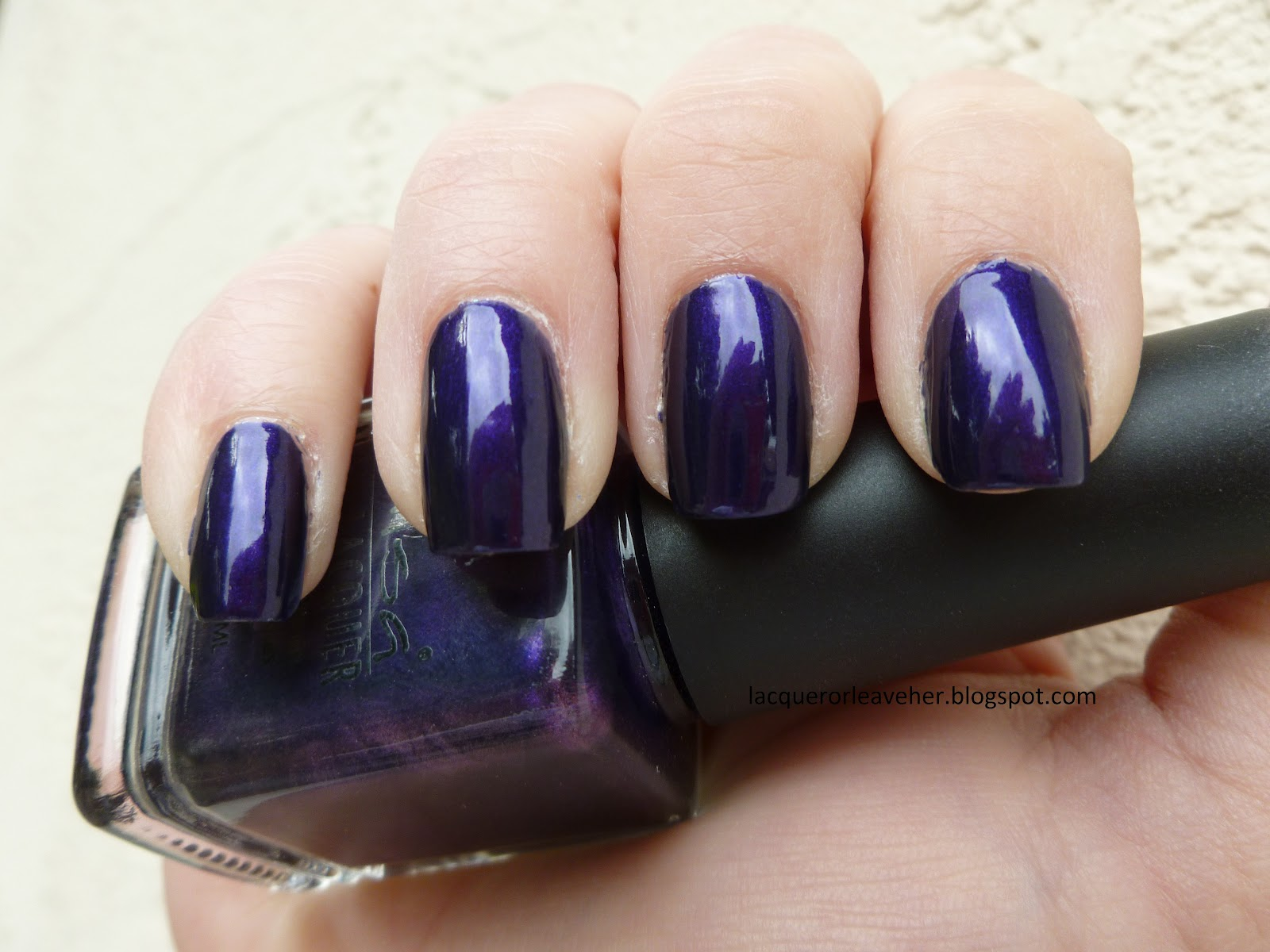Lacquer or Leave Her!: NOTD Before & After: Misa Spinning Out Of Control