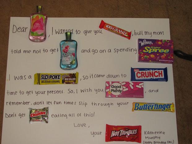Birthday Card Using Candy Vtwctr