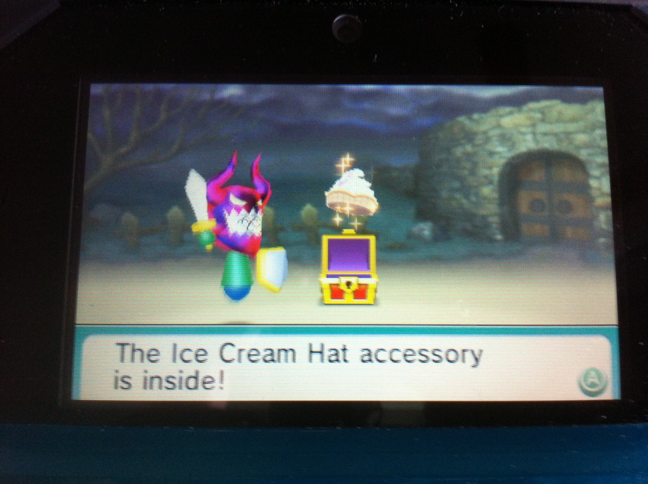 3DS Mii Hats http://gamingpicsandclips.blogspot.com/2012/04/unlocking-ice-cream-hat-in-find-mii-ii.html