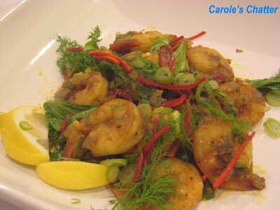 Prawn Stir Fry with Bok Choy on Carole's Chatter