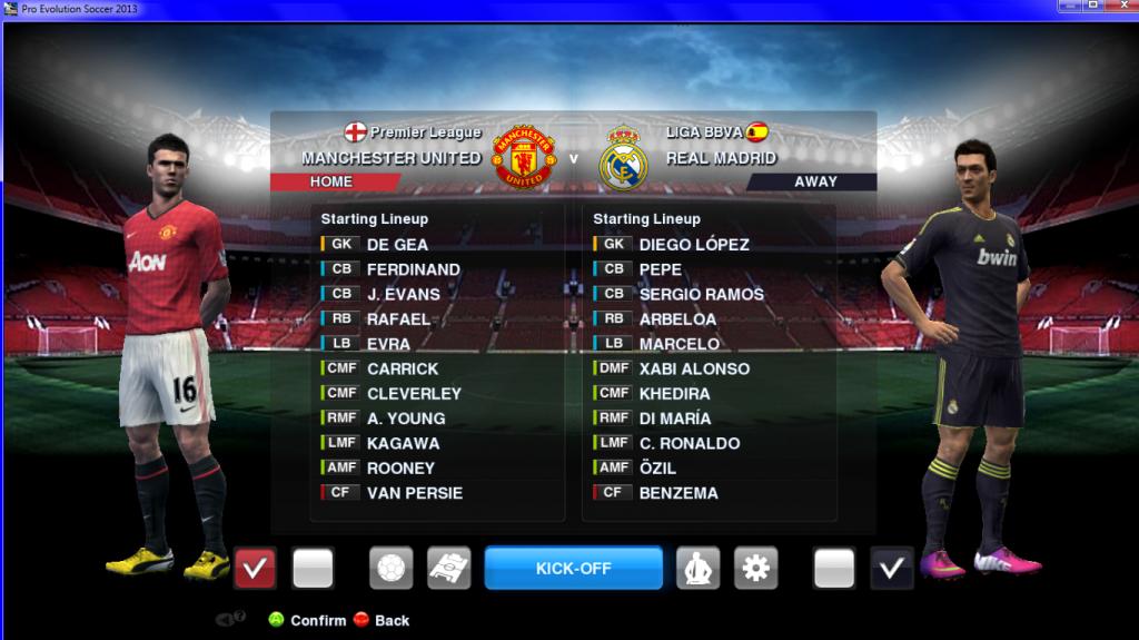 Download Match Background Old Trafford PES 2013 | Mediafire