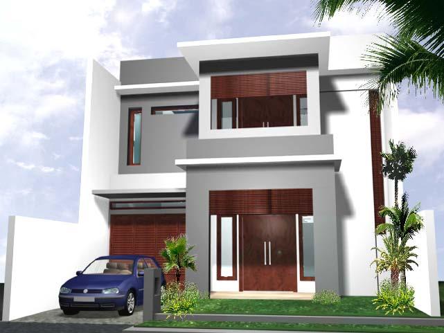 Desain Rumah Tingkat 2 Minimalis