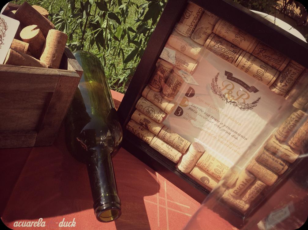 boda temática vino