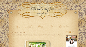 Fancy Header Sample Site