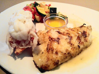 Lobster Tail with Chilean Sea Bass