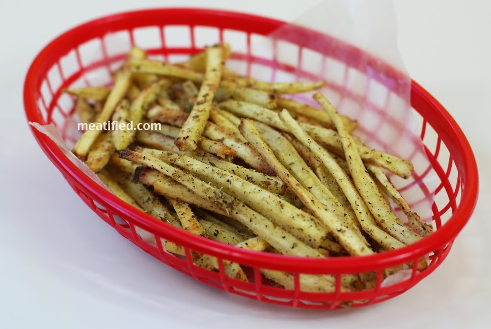 Crispy Shoestring Parsnip Fries