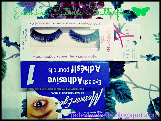 Artmatic U.S.A Eyelashes Clis and Mesmoreyes Eyelash Adhesive
