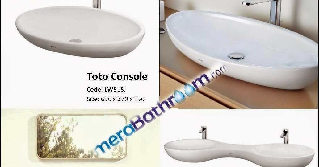 Plumber For Bathroom: Toto Countertop Lavatory
