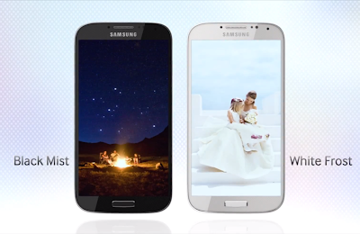 Samsung Galaxy S4 Different Color Models