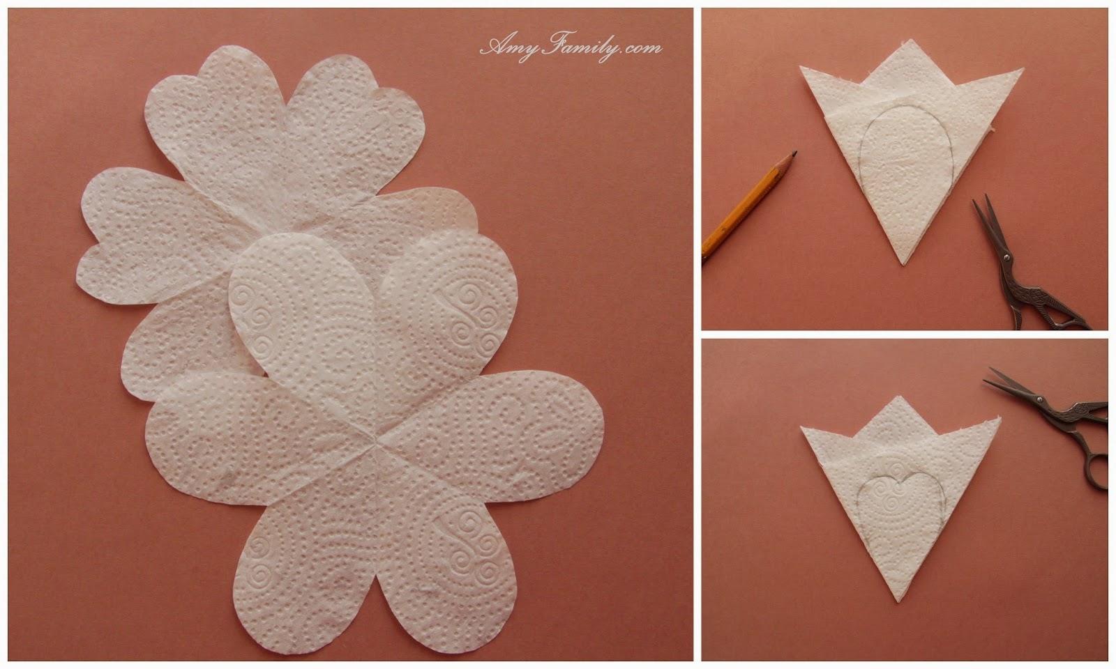 Трафареты лепестков цветов для вырезания из бумаги