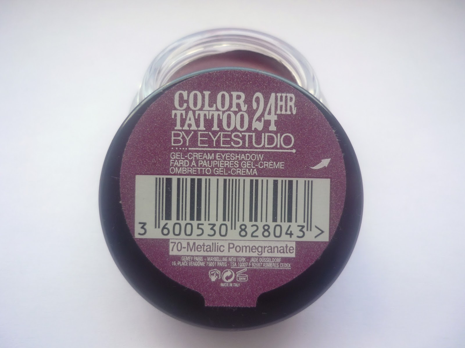 Demi Tromp: Maybelline Color Tattoo 24HR - Pomegranate Punk