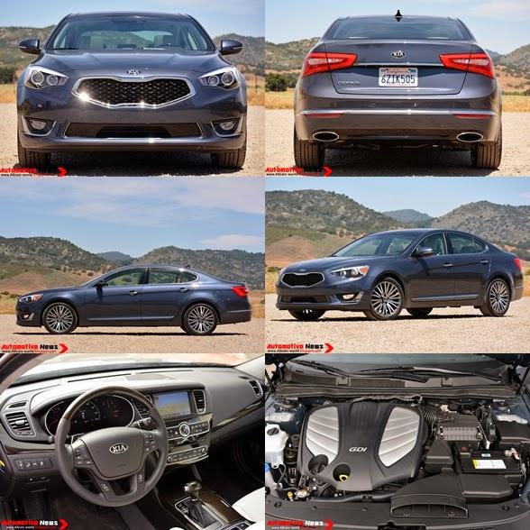 2014 Kia Cadenza Interior: Automotive News: 2014 Kia Cadenza