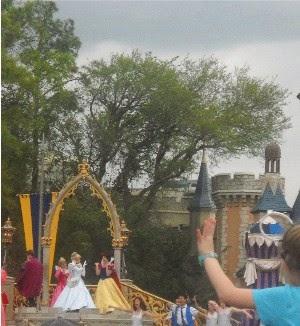 Snow White and Cinderella at Cinderella's Castle