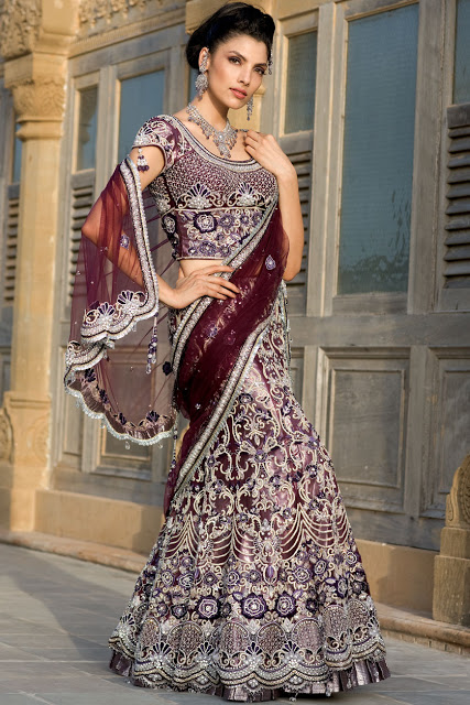 Indian Fashion Bridal Lehenga Collection 2013 For Women