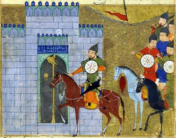 Genghis Khan memasuki Beijing