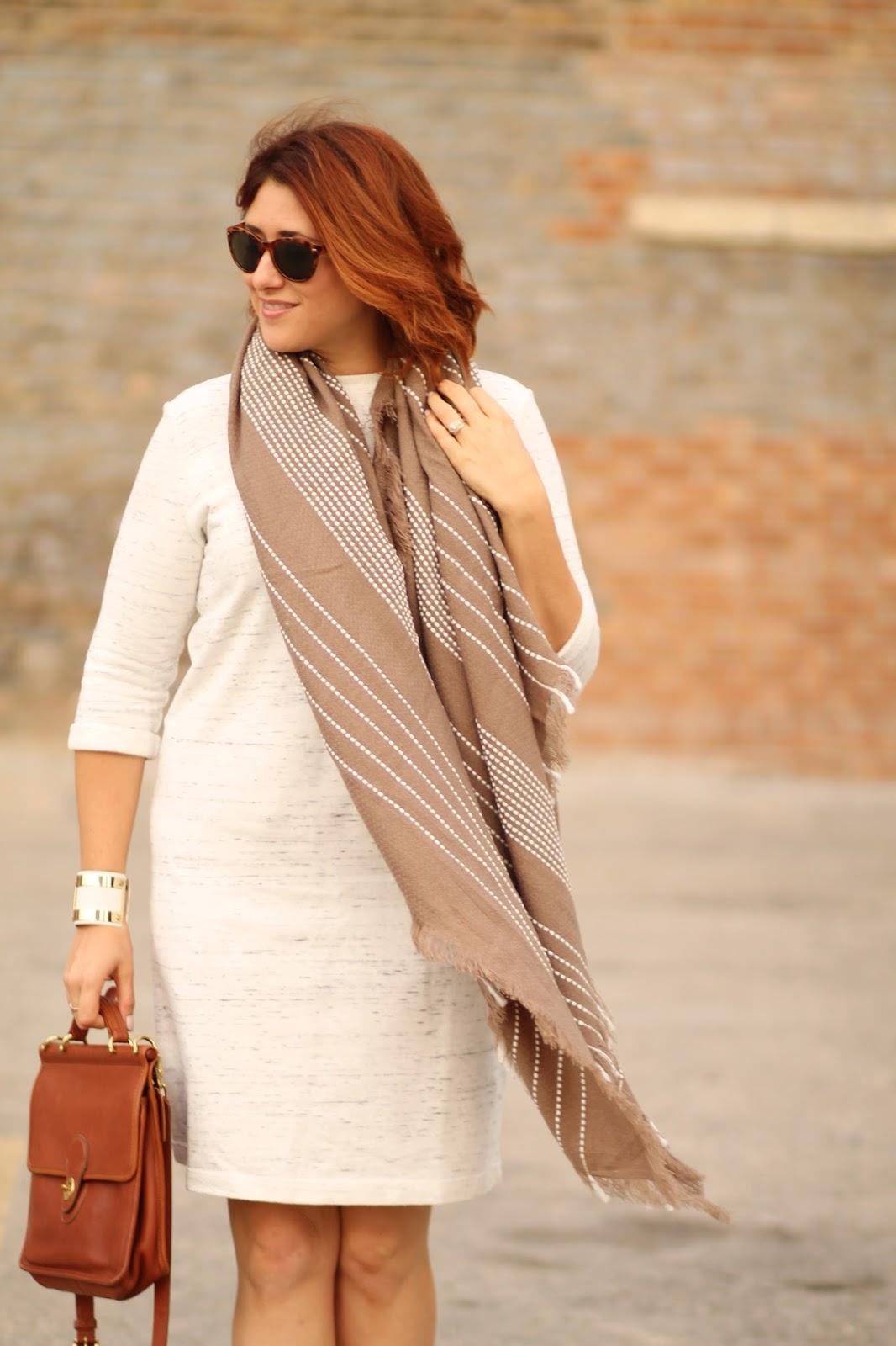 blanket, scarf
