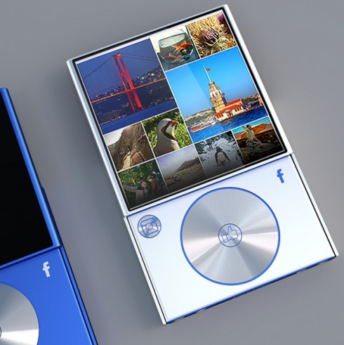 Design concept of facebook phone