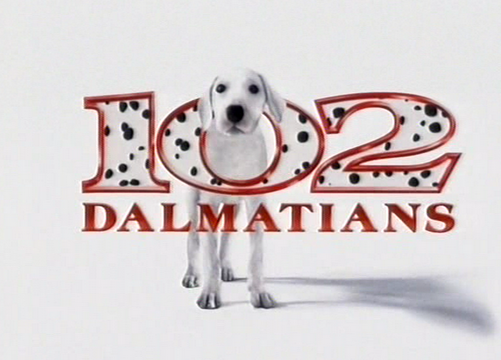 102 Dalmations DvD