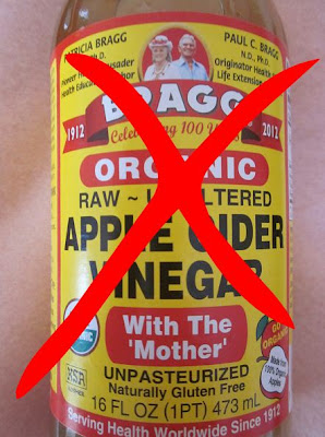 Do NOT use cider vinegar to treat this, as it only adds to the acid burden.  Treatment with an anti-fungal agent might be of value, but often, once the sour crop is dealt with and the hen is back to eating well, it is unnecessary.
