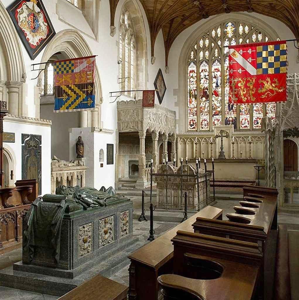 Arundel: capela dos condes da dinastia da família FitzAlan.