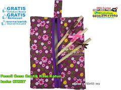 Pencil Case Cantik Kain Katun