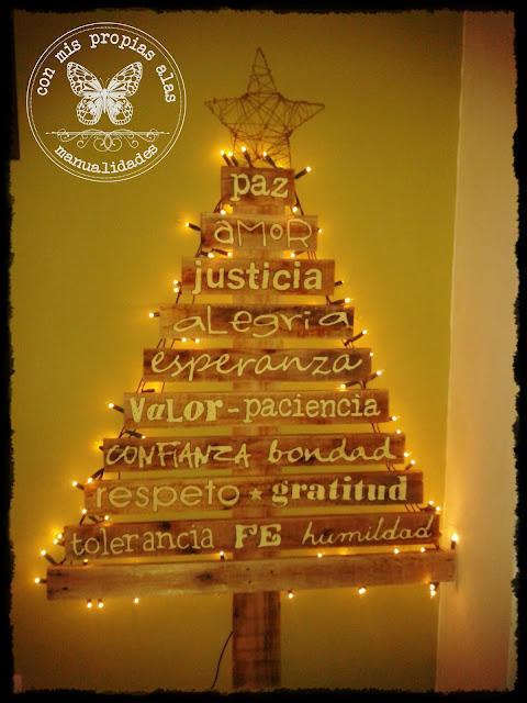Otra vez es un trabajo de reciclado en este caso son - Arboles de navidad artesanales ...