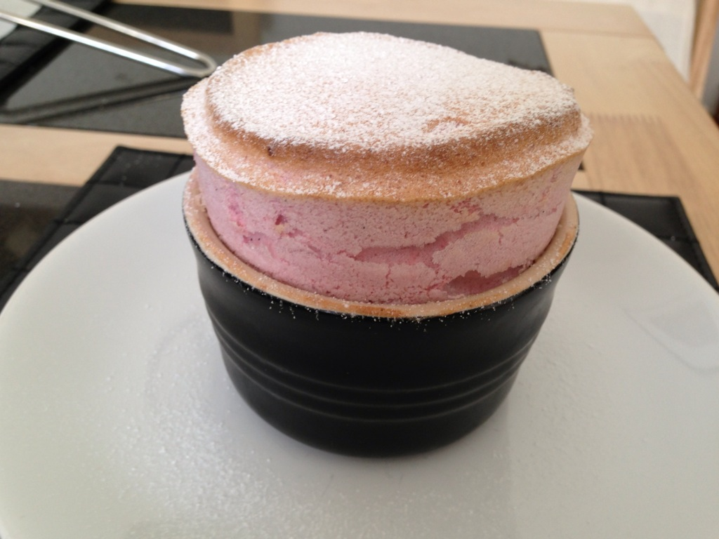 Strawberry Souffle