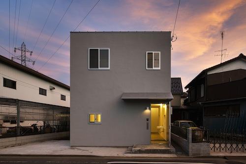 Casa minimalista kdr en tokio jap n cocinas modernass for Casa minimalista historia
