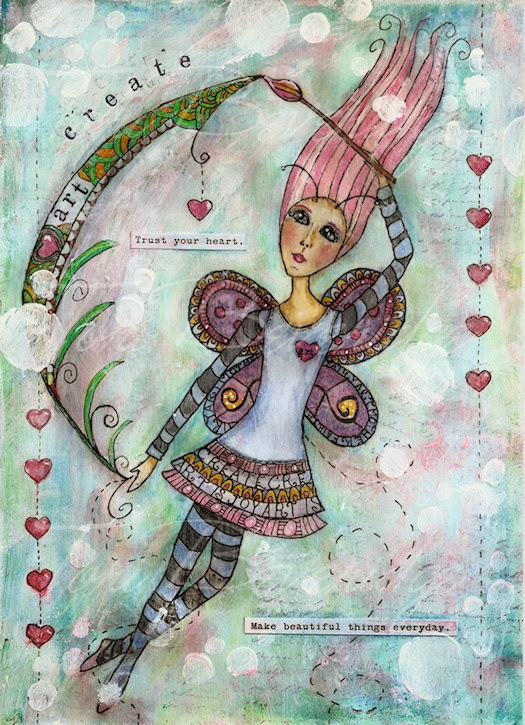 Fairy Art Mother by Tori Beveridge Details