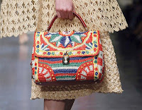 Handbag Details from the Dolce & Gabbana Runway Show Spring/Summer 2013