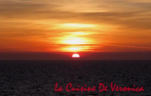 日落 北海 Sunset North Sea