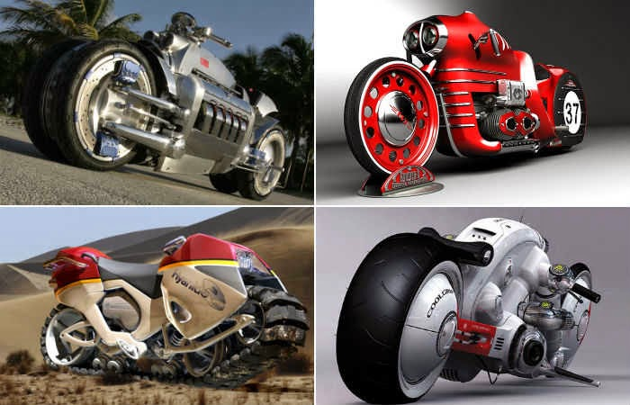 Top 10 Most amazing futuristic bikes