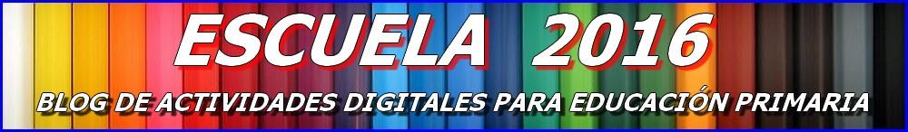 ESCUELA 2016 - Primaria