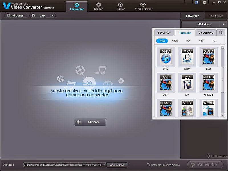 Wondershare Video Converter Ultimate 8.0.5 Portable