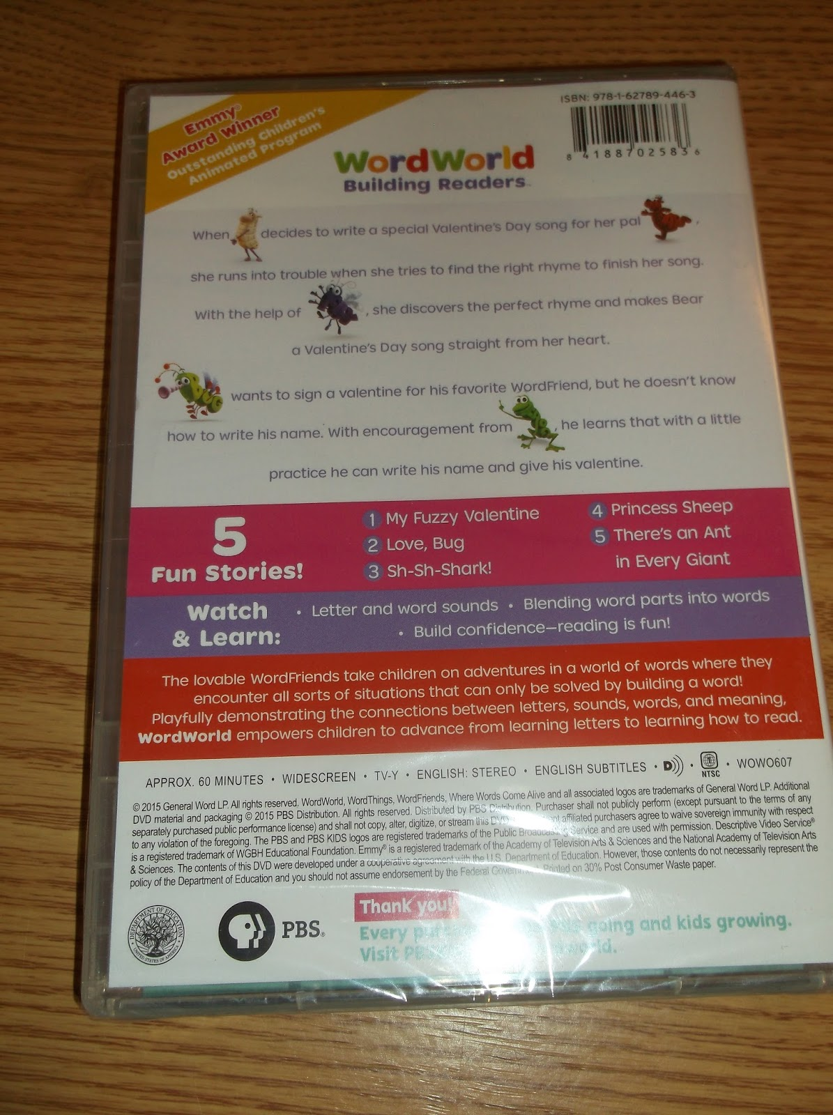 Missys Product Reviews  WORDWORLD Be My Valentine DVD