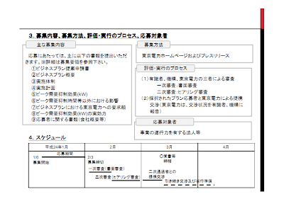 原子力損害賠償支援機構と東京電力が電力デマンドサイドにおける「ビジネス・シナジー・プロポーザル」の募集をスタートします