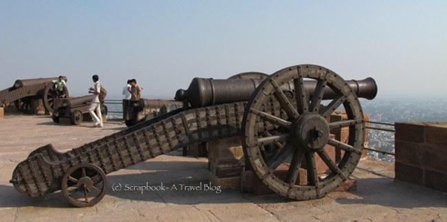 Canon at Mehrangarh Fort, Jodhpur, Rajasthan