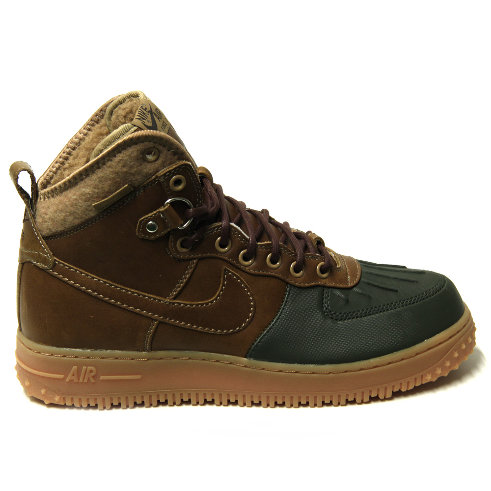 shoebedo nike air force 1 winterstiefel duckboot bchtr. Black Bedroom Furniture Sets. Home Design Ideas