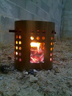 ikea camping hobo stove