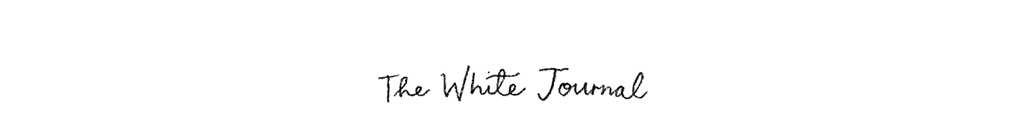 The White Journal UK - art, craft and lifestyle blog